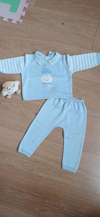 traje bebé 6-12 meses. Marca Mayoral