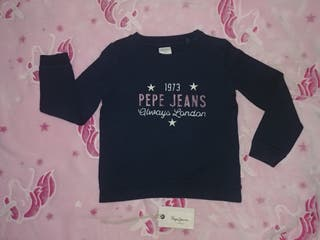 Sudadera / Jersey niña de Pepe Jeans Talla 6 años