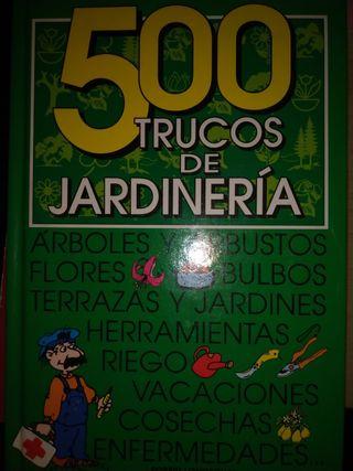 libro 500 trucos de jardineria