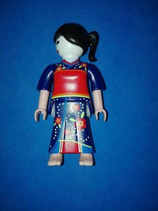numero 918 playmobil gheisa japon asia china