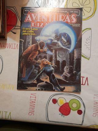 comic AVENTURAS BIZARRAS NÚMERO 9