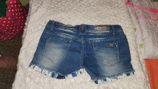 shorts vaqueros cortos