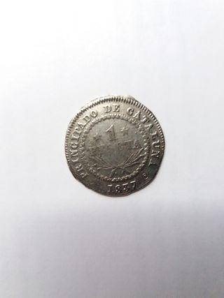 Moneda de 1 peseta - 1837