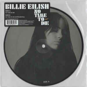 """Billie Eilish No Time To Die Picture 7"""" vinilo"""