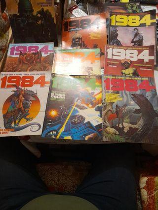 lote de 9 COMICS 1984