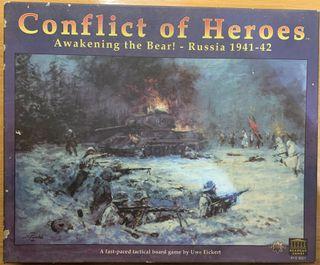 Conflict of heroes juego de mesa