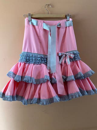 Falda para feria/ rocio / romerías ...