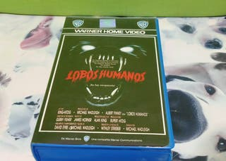 Lobos Humanos BETA primera edición terror
