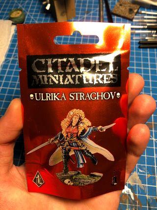 Warhammer kislev El Imperio Ulrika Straghov