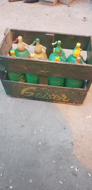 caja sifon de madera