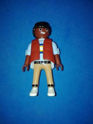 numero 861 playmobil figura negrito ciudad city