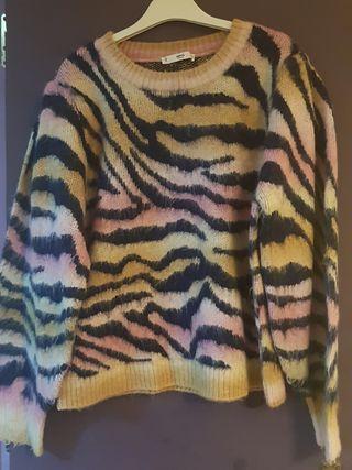 jersey de lana mango un solo uso