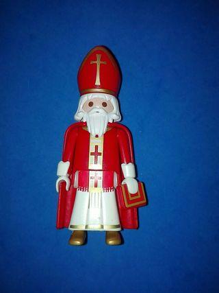 numero 853 playmobil obispo cura sacerdote Iglesia