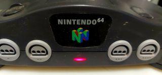Consola vintage NINTENDO 64 - funcionando