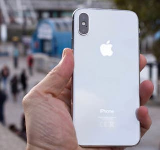 iPhone XS blanco
