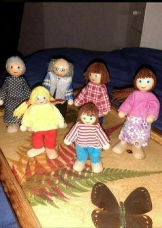 Familia muñecos