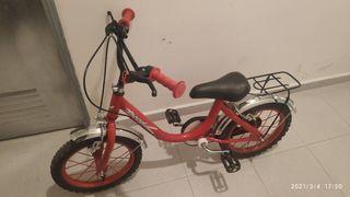 bicicleta clasica antigua niño