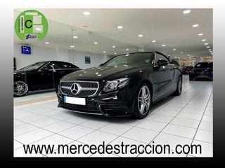 """Mercedes Clase E 220 d Cabrio/Paquete Premium Plus/AMG/Llanta 19"""""""