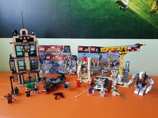 LEGO MARVEL 76005 Y 76037