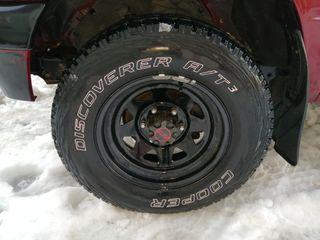 llanta y neumático 4x4