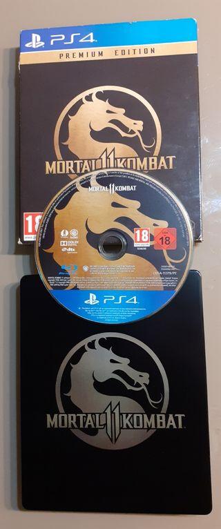 Mortal Kombat 11 Premium Edition PS4