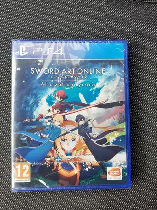 Precintado! Sword art Alicization Lycoris PS4