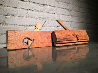 Cepillo de moldura de carpintero (principios s.XX)