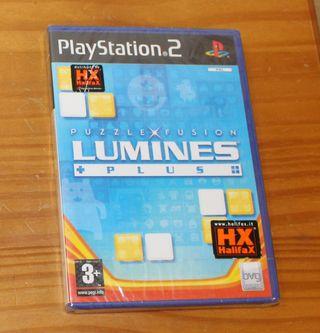PS2 LUMINES PLUS. NUEVO PRECINTADO. PLAYSTATION 2