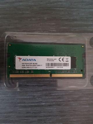 MODULO MEMORIA RAM 4GB DDR4 CL17 2400