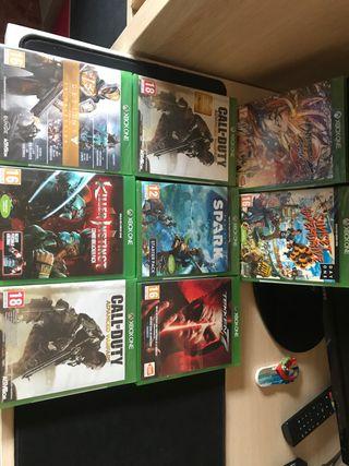 Vendo lote juegos ps4 y xbox one