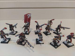 Warhammer Imperio arcabuceros