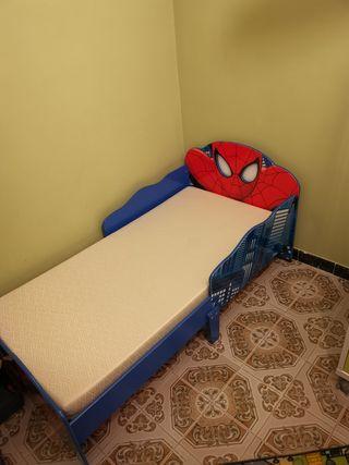 cama de niño +colchón