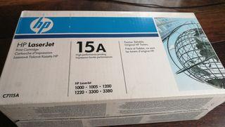cartucho HP 15 A LASERJET ORIGINAL