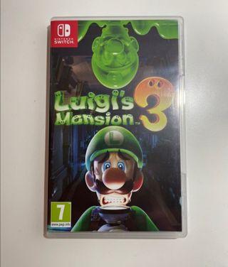 Luigi's Mansion 3. Como nuevo. Nintendo Swicht