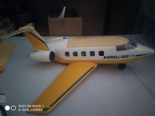 avion pasajeros incompleto de playmobil y despiece