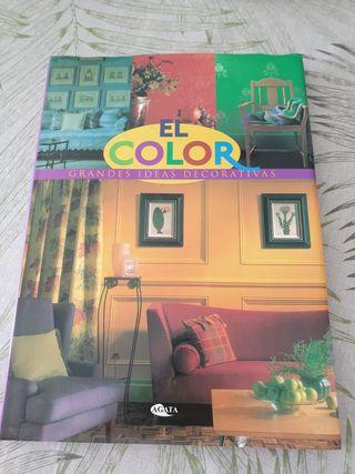 Libro decoración ; el color