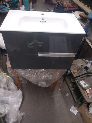 Mueble de baño roca y lavabo de roca