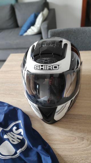 Casco integral SHIRO seminuevo