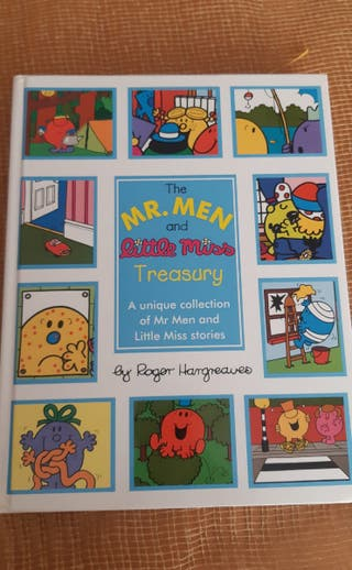 libro inglés The Mr. men and little miss.
