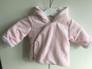 Baby Girl Hooded Jacket