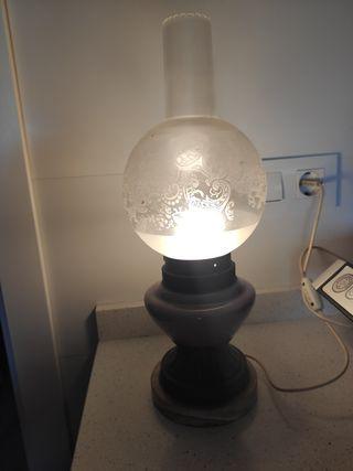 lámpara quinque antigua
