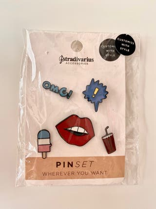 SIN ESTRENAR - pin para decorar ropa