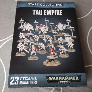 Imperio Tau. Start collecting.