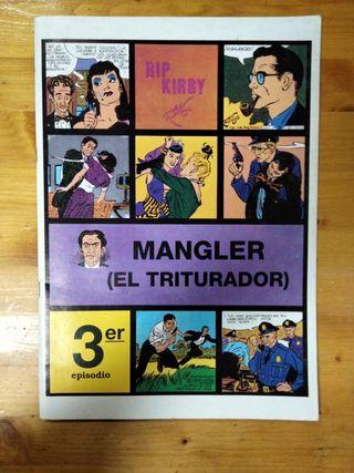 Rip Kirby. Mangler (el triturador)