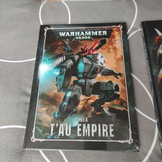 Codex imperio Tau. Sin abrir.
