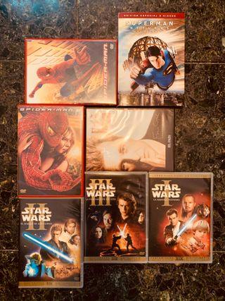 Películas: Pack de 7 DVD's