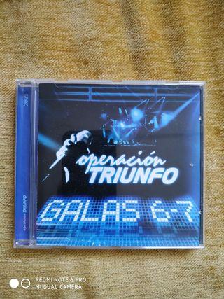 OPERACIÓN TRIUNFO GALAS 6/7.