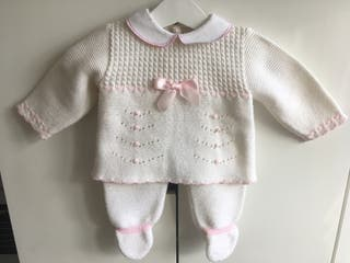 Baby Spanish Knitted Outfit Set