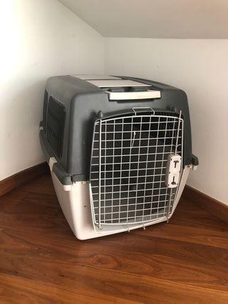 Transportin jaula perro grande o dos pequeños