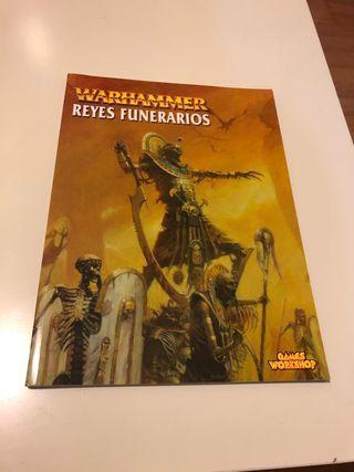 Códex reyes funerarios 6ª Warhammer